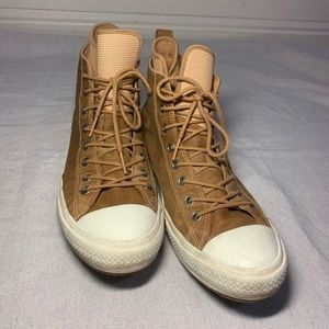 Men's Leather All Star Converse Hi Top 11.5